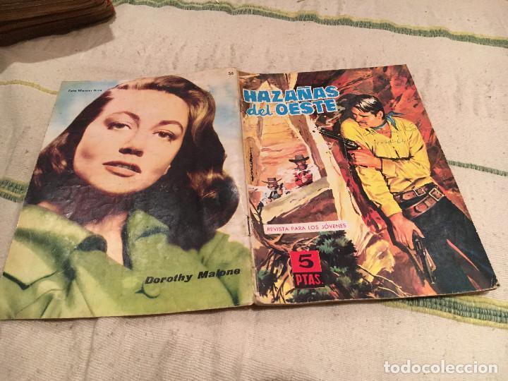 HAZAÑAS DEL OESTE Nº56 LA LEY DEL TERROR - EDICIONES TORAY (Tebeos y Comics - Toray - Hazañas del Oeste)