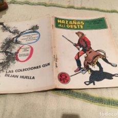 Tebeos: HAZAÑAS DEL OESTE Nº198 SMITH DOS PISTOLAS - EDICIONES TORAY . Lote 168999424