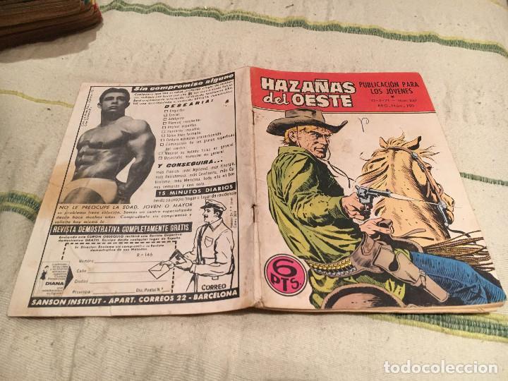 HAZAÑAS DEL OESTE Nº237 UN MILLONARIO EN EL OESTE - EDICIONES TORAY (Tebeos y Comics - Toray - Hazañas del Oeste)