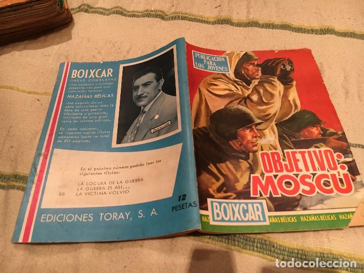 BOIXCAR Nº 80 OBJETIVO MOSCU - OBRAS COMPLETAS -EDICIONES TORAY (Tebeos y Comics - Toray - Otros)