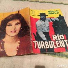 Tebeos: SIOUX Nº56 RIO TURBULENTO - TORAY 1966. Lote 169176540