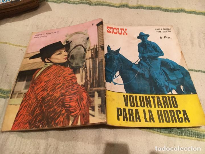 SIOUX Nº 81 VOLUNTARIO PARA LA HORCA - EDICIONES TORAY-1967 (Tebeos y Comics - Toray - Sioux)