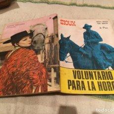 Tebeos: SIOUX Nº 81 VOLUNTARIO PARA LA HORCA - EDICIONES TORAY-1967. Lote 169192560