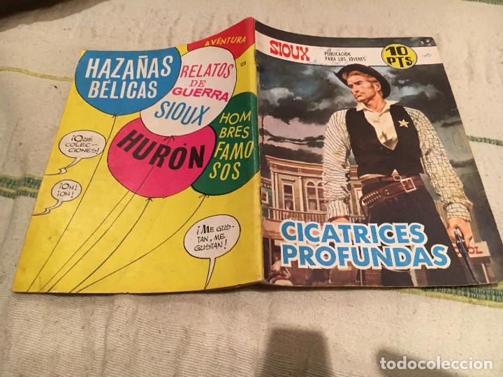 SIOUX Nº 123 CICATRIZES PROFUNDAS - EDICIONES TORAY (Tebeos y Comics - Toray - Sioux)