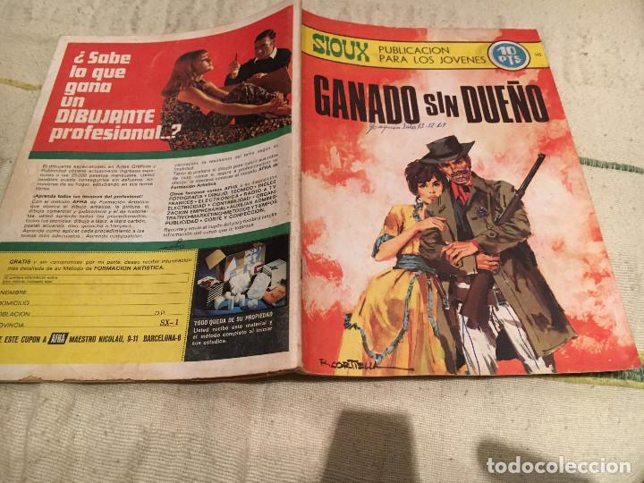 SIOUX Nº 145 - GANADO SIN DUEÑO- EDITORIAL TORAY (Tebeos y Comics - Toray - Sioux)