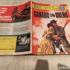 Tebeos: SIOUX Nº 145 - GANADO SIN DUEÑO- EDITORIAL TORAY. Lote 169193036
