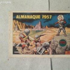 Tebeos: MUNDO FUTURO ALMANAQUE 1957 ORIGINAL. Lote 169372460