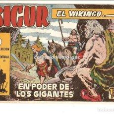 Tebeos: SIGUR EL WIKINGO Nº 2 TEBEO ORIGINAL 1958 EN PODER DE LOS GIGANTES EDICIONES TORAY OFERTA LEER !. Lote 169407592