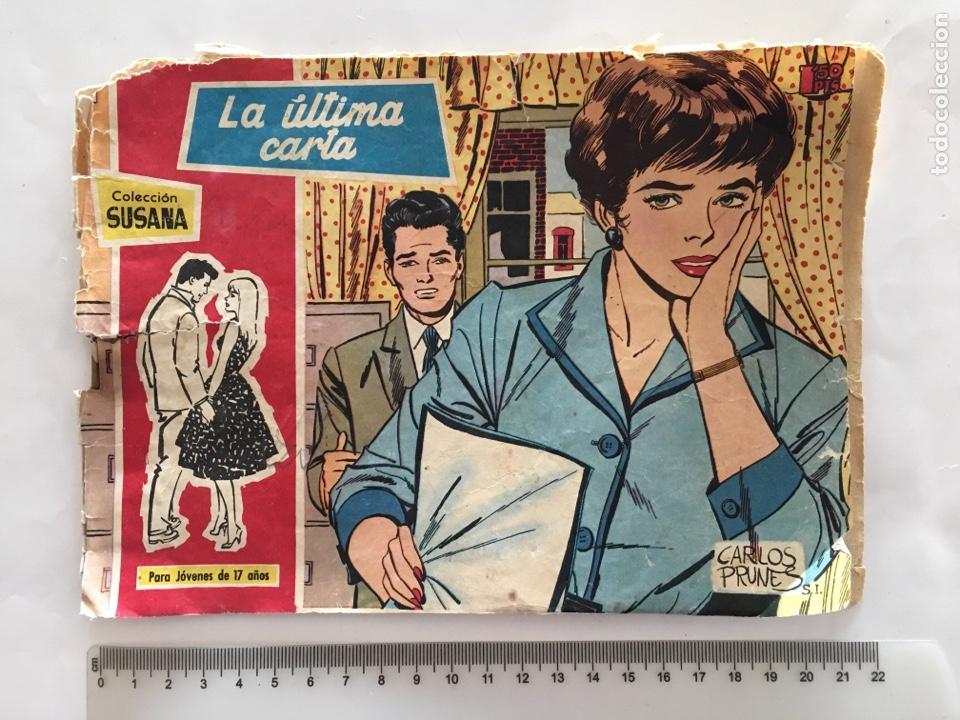 COLECCIÓN SUSANA. LA ÚLTIMA CARTA. EDIC. TORAY, S. A. AÑO 1959. (Tebeos y Comics - Toray - Susana)