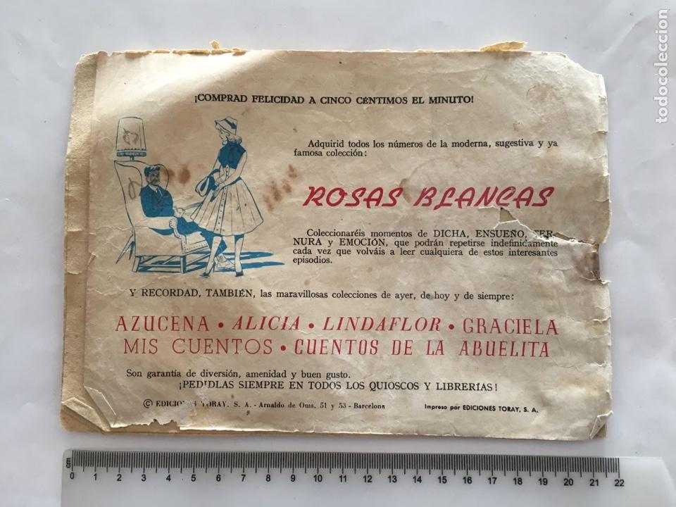 Tebeos: COLECCIÓN SUSANA. LA ÚLTIMA CARTA. EDIC. TORAY, S. A. AÑO 1959. - Foto 2 - 169742198
