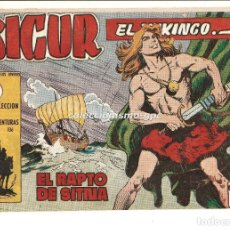 Tebeos: SIGUR EL WIKINGO Nº 7 TEBEO ORIGINAL 1958 EL RAPTO DE SITNA EDICIONES TORAY MUY BUEN ESTADO LEER !!!. Lote 169784872