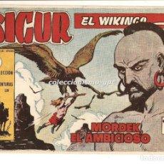 Tebeos: SIGUR EL WIKINGO Nº 10 TEBEO ORIGINAL 1958 MORDEK EL AMBICIOSO EDICIONES TORAY MUY BUEN ESTADO LEER!. Lote 170358900