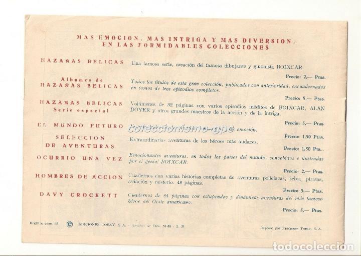 Tebeos: SIGUR EL WIKINGO nº 14 TEBEO ORIGINAL 1958 ASALTO AL CASTILLO Ediciones TORAY Buen Estado Leer !! - Foto 2 - 170417600