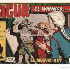 Tebeos: SIGUR EL WIKINGO Nº 16 TEBEO ORIGINAL 1958 EL NUEVO REY EDICIONES TORAY BUEN ESTADO LEER !!. Lote 170420676