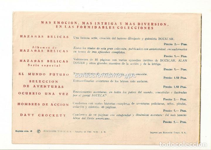 Tebeos: SIGUR EL WIKINGO nº 16 TEBEO ORIGINAL 1958 EL NUEVO REY Ediciones TORAY Buen Estado Leer !! - Foto 2 - 170420676