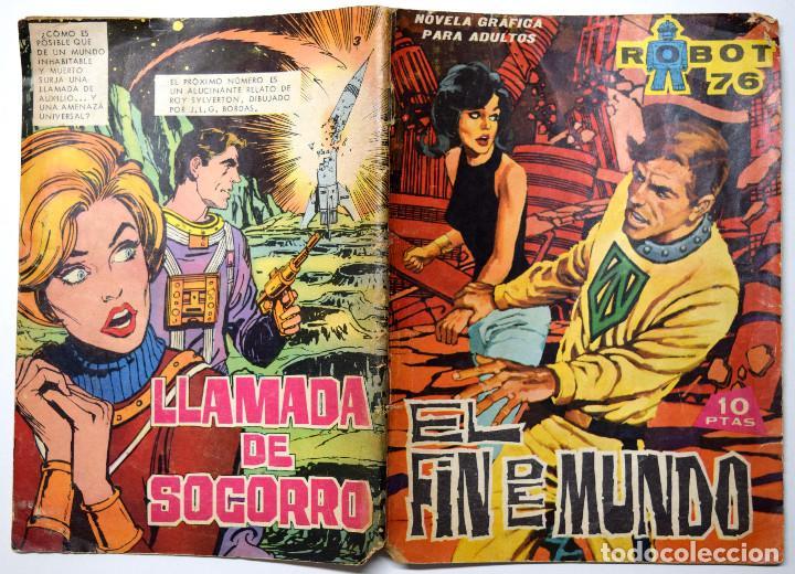 ROBOT 76 Nº 3 - EL FIN DEL MUNDO - AÑO 1967 (Tebeos y Comics - Toray - Otros)