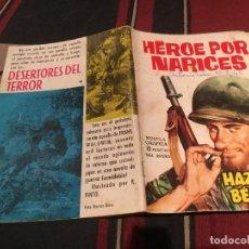 Giornalini: HAZAÑAS BELICAS - Nº 48 HEROES POR NARICES I - EDICIONES TORAY 1963. Lote 170687915