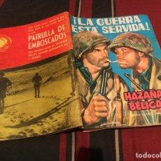 Tebeos: HAZAÑAS BELICAS - Nº 59 - LA GUERRA ESTA SERVIDA - EDICIONES TORAY 1963. Lote 170689160