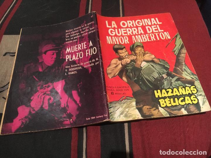 HAZAÑAS BELICAS - Nº62 - LA ORIGINAL GUERRA DEL MAYOR AMBERTON - EDICIONES TORAY 1964 (Tebeos y Comics - Toray - Otros)