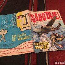 Tebeos: HAZAÑAS BELICAS - Nº72 - SABOTAJE - EDICIONES TORAY 1964. Lote 170697510