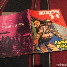 Tebeos: HAZAÑAS BELICAS - Nº94 - MISION H - EDICIONES TORAY 1965. Lote 170701280