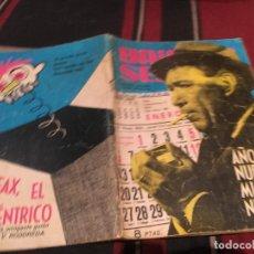 Tebeos: BRIGADA SECRETA Nº 56 - AÑO NUEVO MUERTE NUEVA - EDICIONES TORAY 1964. Lote 170876110
