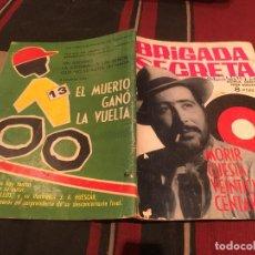 Tebeos: BRIGADA SECRETA Nº63 - MORIR CUESTA VEINTICINCO CENTAVOS - EDICIONES TORAY 1964. Lote 170876335