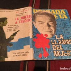 Tebeos: BRIGADA SECRETA Nº78 - LA LLAMADA DEL MUERTO - EDICIONES TORAY 1964. Lote 170877020