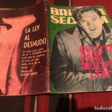 Tebeos: BRIGADA SECRETA Nº86 - RECETA PARA MUERTE LENTA - EDICIONES TORAY 1965. Lote 170877360