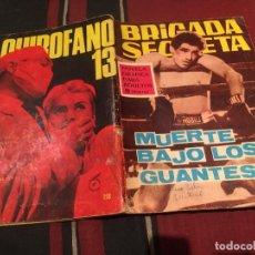 Tebeos: BRIGADA SECRETA Nº158 - MUERTA BAJO LOS GUANTES - EDICIONES TORAY 1966. Lote 170878100