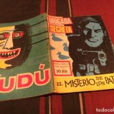 Tebeos: BRIGADA SECRETA Nº185 - EL MISTERIO DE LOS PATOS - EDICIONES TORAY 1966. Lote 170878660