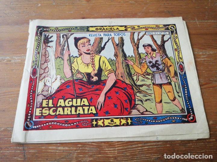 GRACIELA NÚMERO 75. EL AGUA ESCARLATA. (Tebeos y Comics - Toray - Graciela)