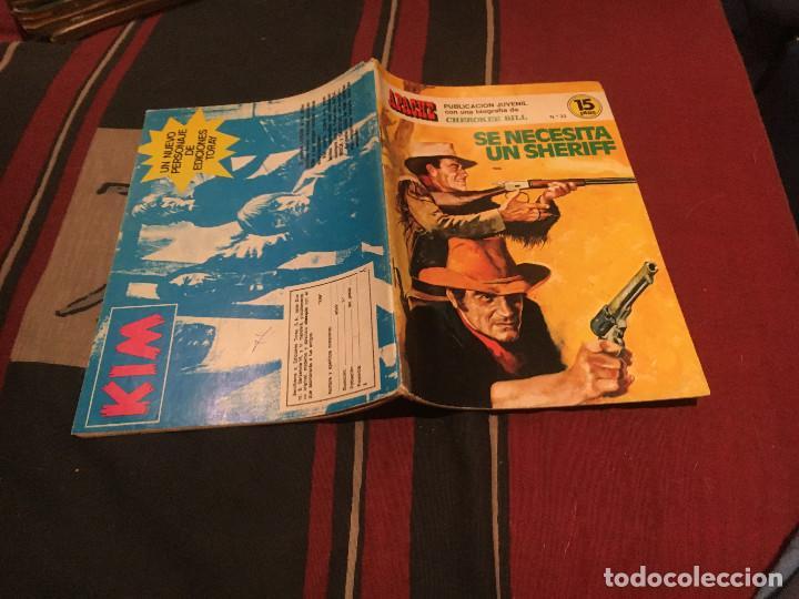 APACHE Nº23 - SE NECESITA SHERIFF - 1974 (Tebeos y Comics - Toray - Otros)