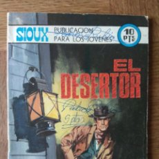 Tebeos: SIOUX Nº 152 - EDITORIAL TORAY - NOVELA GRAFICA - EL DESERTOR -. Lote 171044063