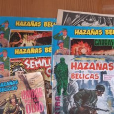 Tebeos: LOTE 6 ANTIGUOS HAZAÑAS BELICAS. Lote 171488172