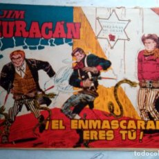 Tebeos: JIM HIRACÁN- Nº 7 -¡EL ENMASCARADO ERES TÚ!- 1960-GRAN J.BUXADÉ-DIFÍCIL-CORRECTO-LEAN-1586. Lote 171539125