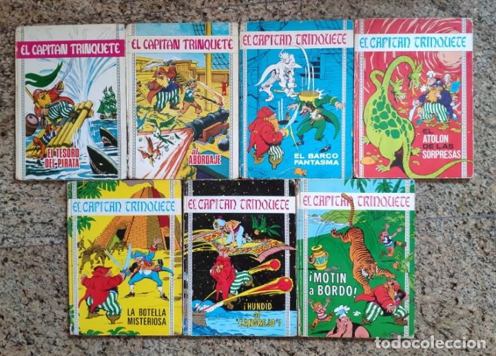 EL CAPITAN TRINQUETE (COLECCION COMPLETA) - EUGENIO SOTILLOS Y JORGE NABAU (TORAY 1970) (Tebeos y Comics - Toray - Otros)