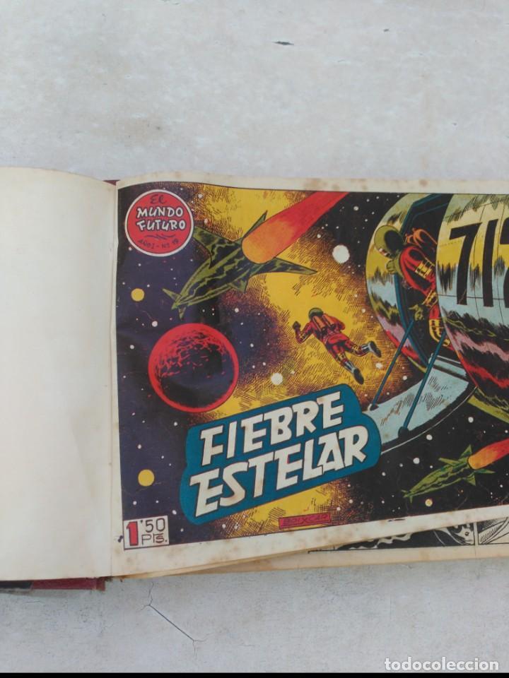 Tebeos: TOMO Mundo Futuro (29 cómics) y Hazañas Bélicas (36 cómics) y 21 sueltos de Mundo Futuro 86 TEBEOS - Foto 4 - 172007428