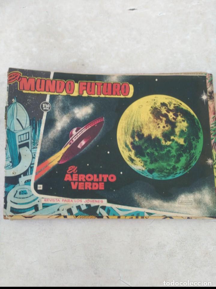 Tebeos: TOMO Mundo Futuro (29 cómics) y Hazañas Bélicas (36 cómics) y 21 sueltos de Mundo Futuro 86 TEBEOS - Foto 12 - 172007428