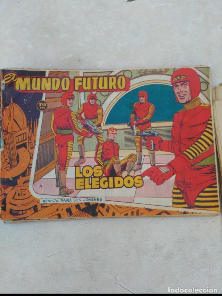 Tebeos: TOMO Mundo Futuro (29 cómics) y Hazañas Bélicas (36 cómics) y 21 sueltos de Mundo Futuro 86 TEBEOS - Foto 13 - 172007428