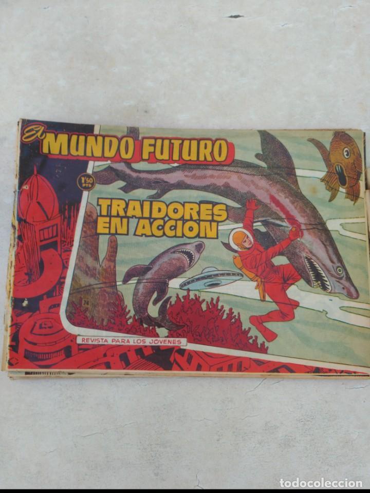 Tebeos: TOMO Mundo Futuro (29 cómics) y Hazañas Bélicas (36 cómics) y 21 sueltos de Mundo Futuro 86 TEBEOS - Foto 14 - 172007428