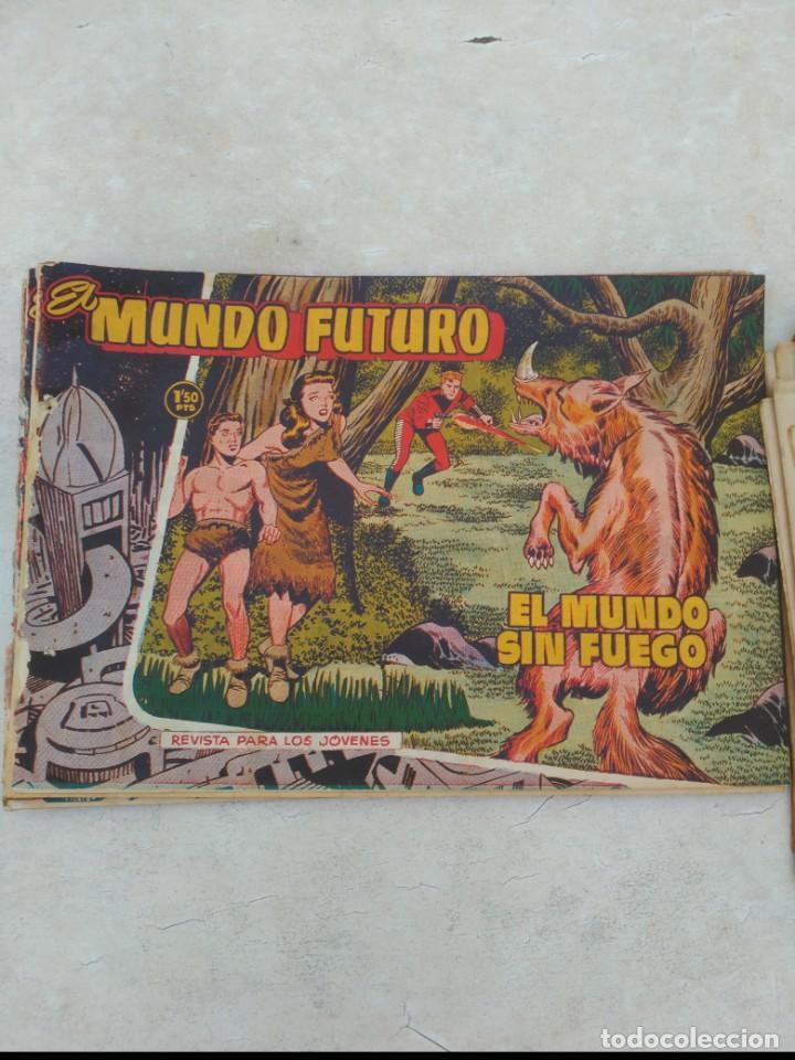 Tebeos: TOMO Mundo Futuro (29 cómics) y Hazañas Bélicas (36 cómics) y 21 sueltos de Mundo Futuro 86 TEBEOS - Foto 15 - 172007428