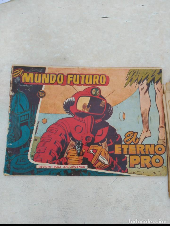 Tebeos: TOMO Mundo Futuro (29 cómics) y Hazañas Bélicas (36 cómics) y 21 sueltos de Mundo Futuro 86 TEBEOS - Foto 16 - 172007428