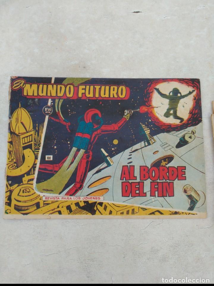 Tebeos: TOMO Mundo Futuro (29 cómics) y Hazañas Bélicas (36 cómics) y 21 sueltos de Mundo Futuro 86 TEBEOS - Foto 17 - 172007428