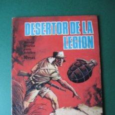 Tebeos: HAZAÑAS BELICAS (1961, TORAY) -NOVELA GRAFICA- 123 · 10-VI-1966 · DESERTOR DE LA LEGIÓN. Lote 172033942