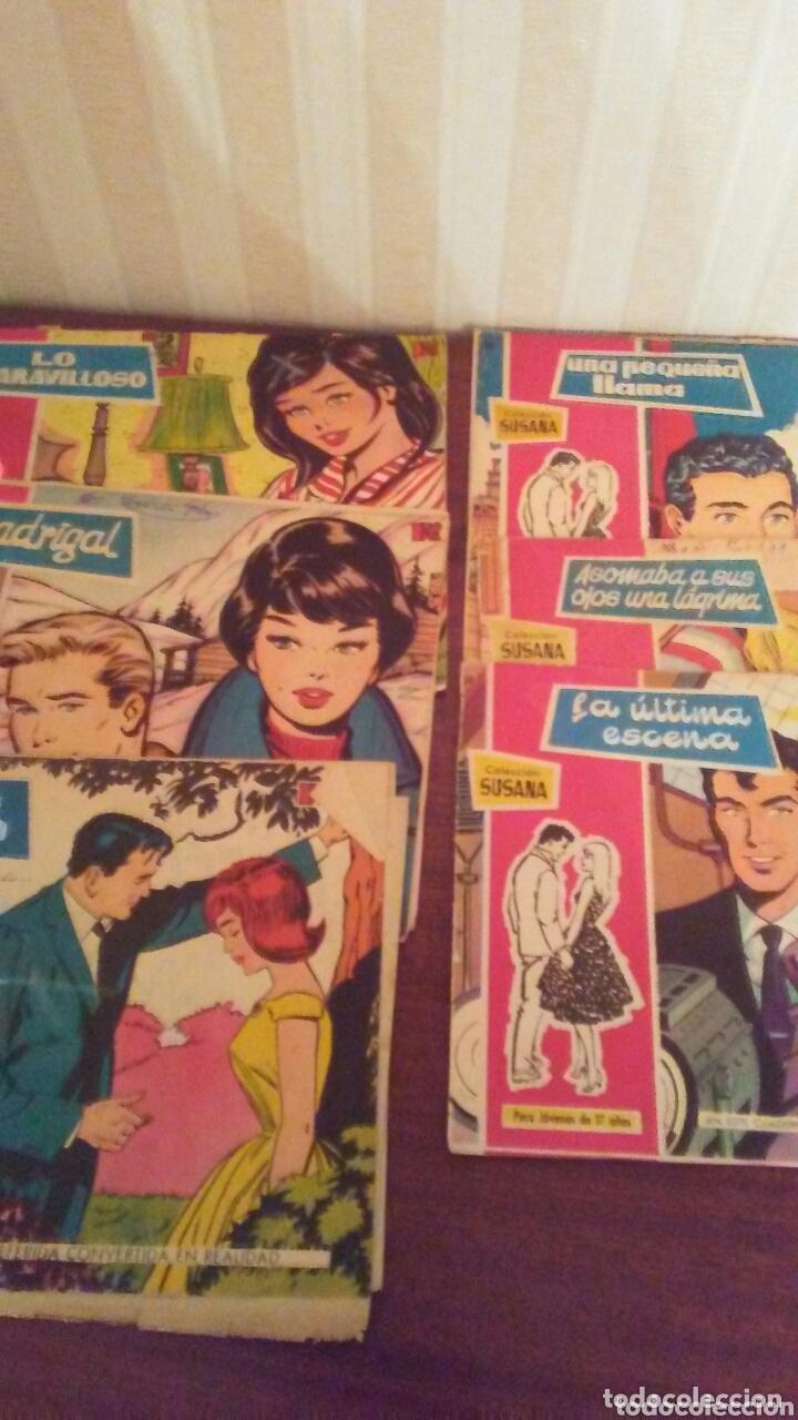 LOTE DE 6 EJEMPLARES DE REVISTA JUVENILSUSANA,AÑOS 60 (Tebeos y Comics - Toray - Susana)