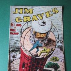 Tebeos: JIM GRAVES (1954, TORAY) 17( 25 COLECCIÓN SUPERIOR ) · 1954 · EL FARO DE ROCK ISLAND. Lote 172400064