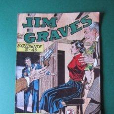 Tebeos: JIM GRAVES (1954, TORAY) 22 ( 30 COLECCIÓN SUPERIOR)· 1954 · EXPEDIENTE Z-45. Lote 172400947