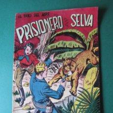 Tebeos: TRIO DEL AIRE, EL (1954, TORAY) 1 · 1954 · PRISIONERO DE LA SELVA. Lote 172401569
