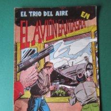 Tebeos: TRIO DEL AIRE, EL (1954, TORAY) 8 · 1954 · EL AVION FANTASMA. Lote 172422923